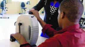 Las terapias físicas son determinantes para  la rehabilitación completa del paciente  afectado en un accidente   .  Elieser Tapia.