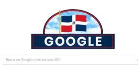 Doodle de Google dedicado al 175 aniversario de la Independencia Nacional.