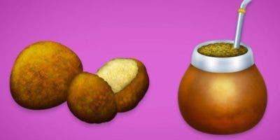 El falafel y el mate forman parte del nuevo conjunto de emojis que podrás usar en WhatsApp.