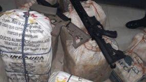 Alijo y armas fueron presentados en diciembre por la Policía.
