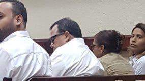 En audiencia cuatro de los  5  implicados . TERESA CASADO