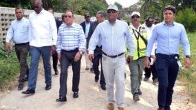 Autoridades  constataron  situación del   parque ecológico.