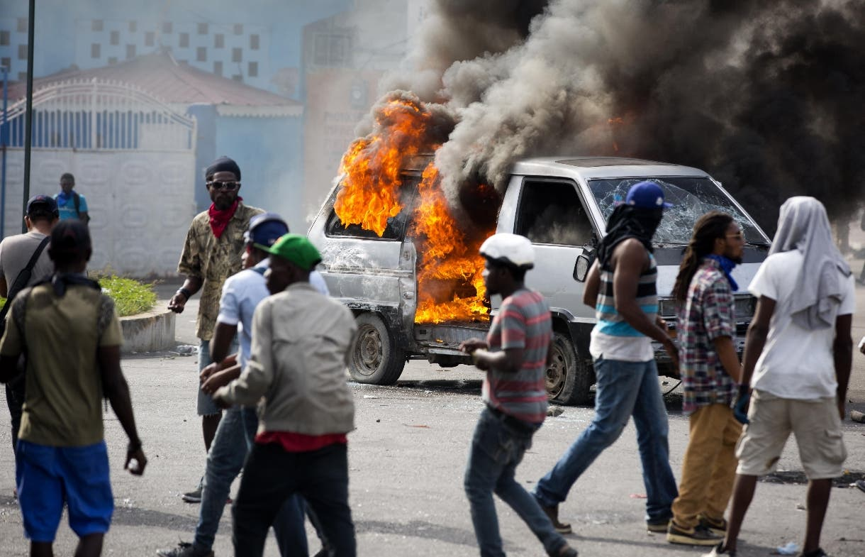 Haiti Protests