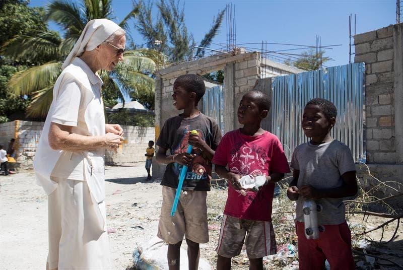 El silencioso trabajo de las misioneras en Haití