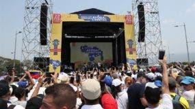 """El concierto """"Venezuela Aid Live"""" recaudó casi 2,5 millones de dólares"""