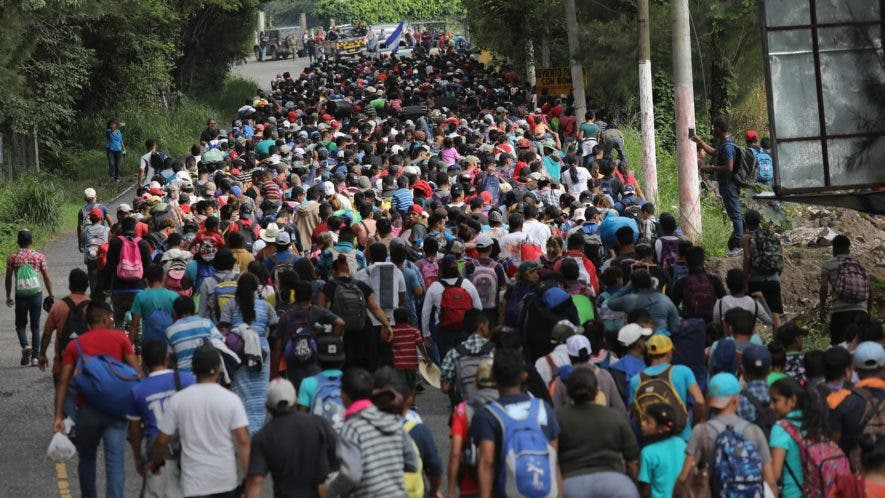 El Salvador, Guatemala y Honduras son los países que aportan más migrantes hacia méxico y Estados Unidos.
