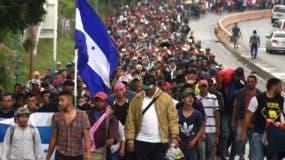 Las caravanas de migrantes que parten de Honduras son constantes y terminan en México.