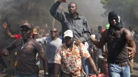Los protestantes rechazan el gobierno de Jovenel Moise, quien tiene  dos años en el poder.
