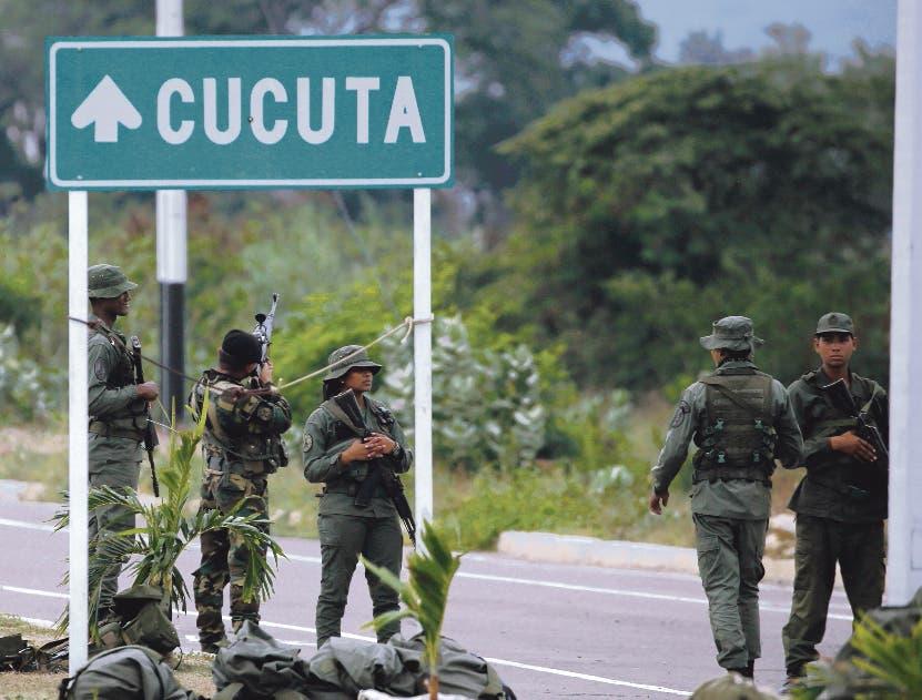 El refuerzo militar se hizo en Cúcuta, limítrofe con Colombia.