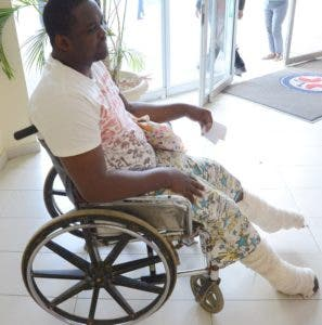 Marco Antonio Guerrero vive en silla de ruedas. José de León