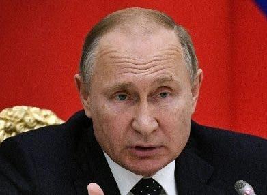 El presidente Vladimir Putin.