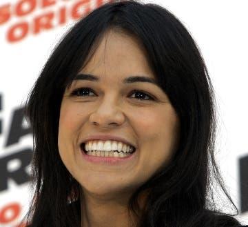 La actriz de Michelle Rodríguez.