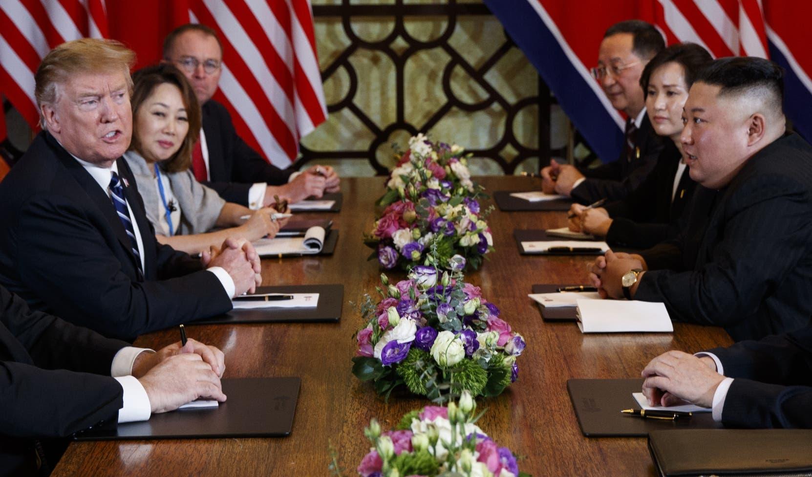 La Cumbre entre Trump y Kim termina abruptamente en fracaso