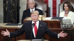 El presidente Donald Trump ponderó el avance económico que experimenta el país.