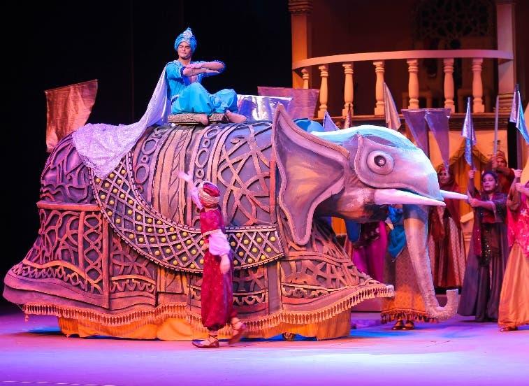 Aladino alegra a grandes y chicos el fin de semana
