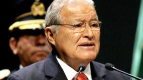 El presidente  Salvador Sánchez Cerén
