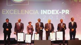 """Dominicanos galardonados con el """"Premio INDEX-PR a la Excelencia Dominicana 2018."""