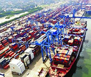 La zona se ha convertido en un principal puerto de carga.