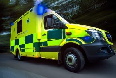 La ambulancia  se encontraba a menos de 10 minutos.