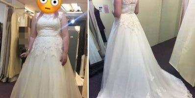 El vestido costó 899 euros y se vende en 450.