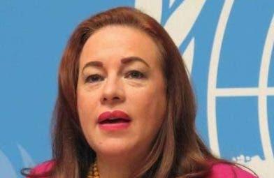 María Fernanda Espinosa.