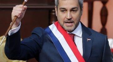 El presidente de Paraguay, Mario Abdo Benítez.