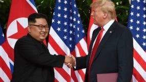 En la primera cumbre de Donald Trump y Kim Jong-un no hubo avances significativos. Tampoco firmaron acuerdos.