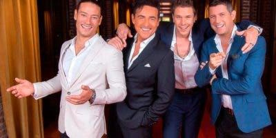 Urs Bühler, Carlos Marín, David Miller y Sébastien Izambard forman el cuarteto  Il Divo, que se presenta el sábado en Hard Rock Hotel Punta Cana.  Archivo