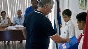 Los cubanos participaron masivamente en el referendo.