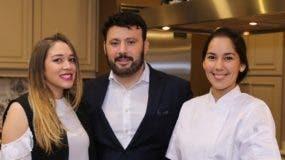 Laura Nuñez, Milton Catrain y  Blanca Peguero.