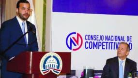 Rafael Paz durante la presentación del Primer Índice de Competitividad  .  JOSE DE LEON