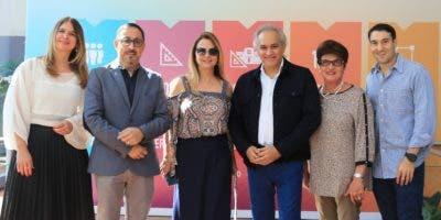 Mónica Despradel, Alexis Hernández, Nuria Piera, José Antonio Molina, Fanny Cohen y  Salomón Cohen.