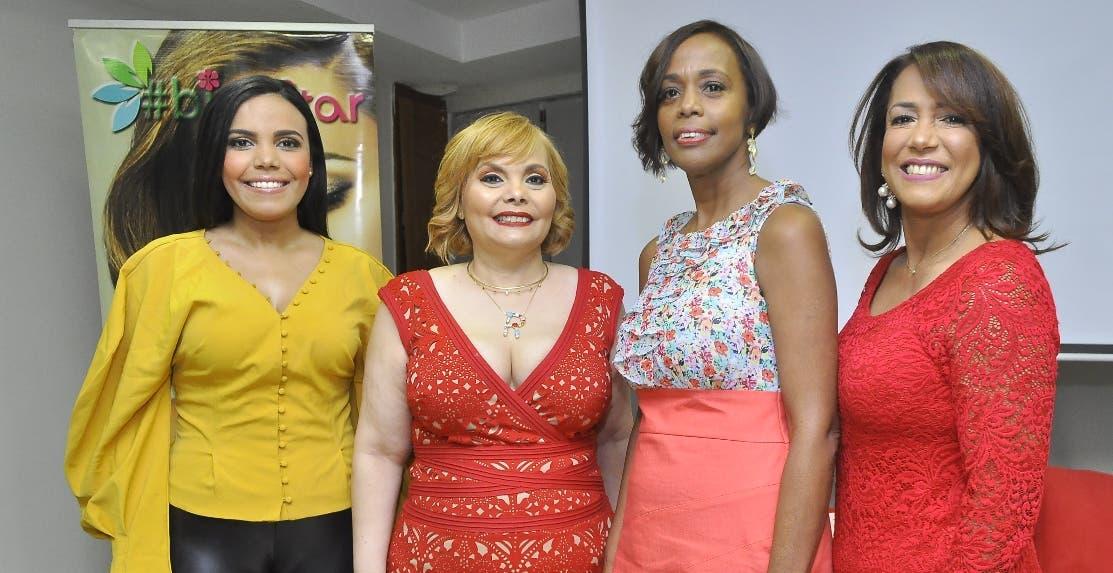 Rommy Pichardo, Rommy Grullón, Mirtha de León y Delci Peguero.