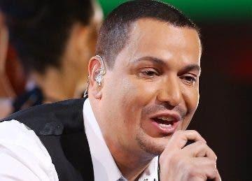 El cantante de salsa Víctor Manuelle.