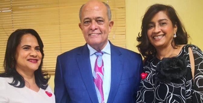 Magali Álvarez,  José Silié Ruiz y Wilma Pérez.