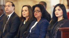Juan López, Dimas Saint-Hilaire, Darina Custodio, Cristina Lizardo y Berlinesa Franco.
