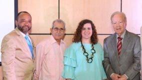 Luis Marino López, Bolívar Troncoso, Lisette Gil y  José Luis Corripio.