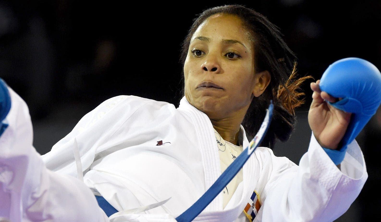 La destacada atleta  Karina Díaz durante  su preparación para los Panamericanos de este año en Lima, Perú.  Fuente externa