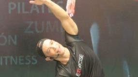 El instructor de fitness Juan Carlos Vargas.