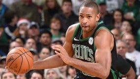 El dominicano Al Horford está demostrando que sigue siendo pieza clave en las apiraciones de los Celtics de Boston.  A p