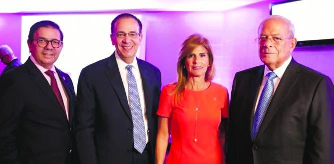 Félix Manuel Escaño,  Arnaldo Espaillat, Jacqueline Gónzalez y Octavio Gónzalez Nivar.