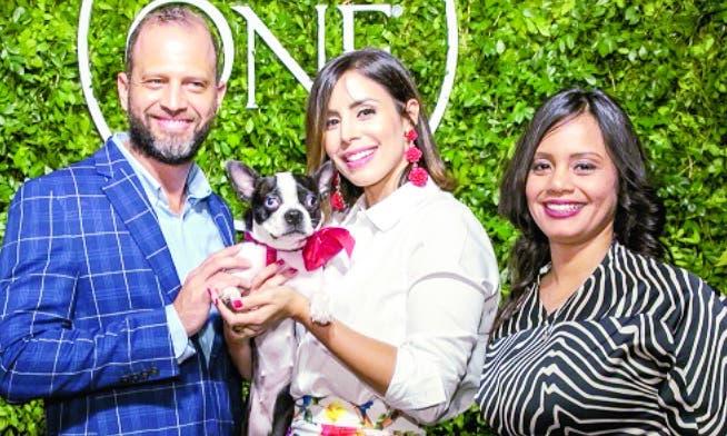 Daniel Peña, María Alejandra Guzmán y Maribel Alcántara.