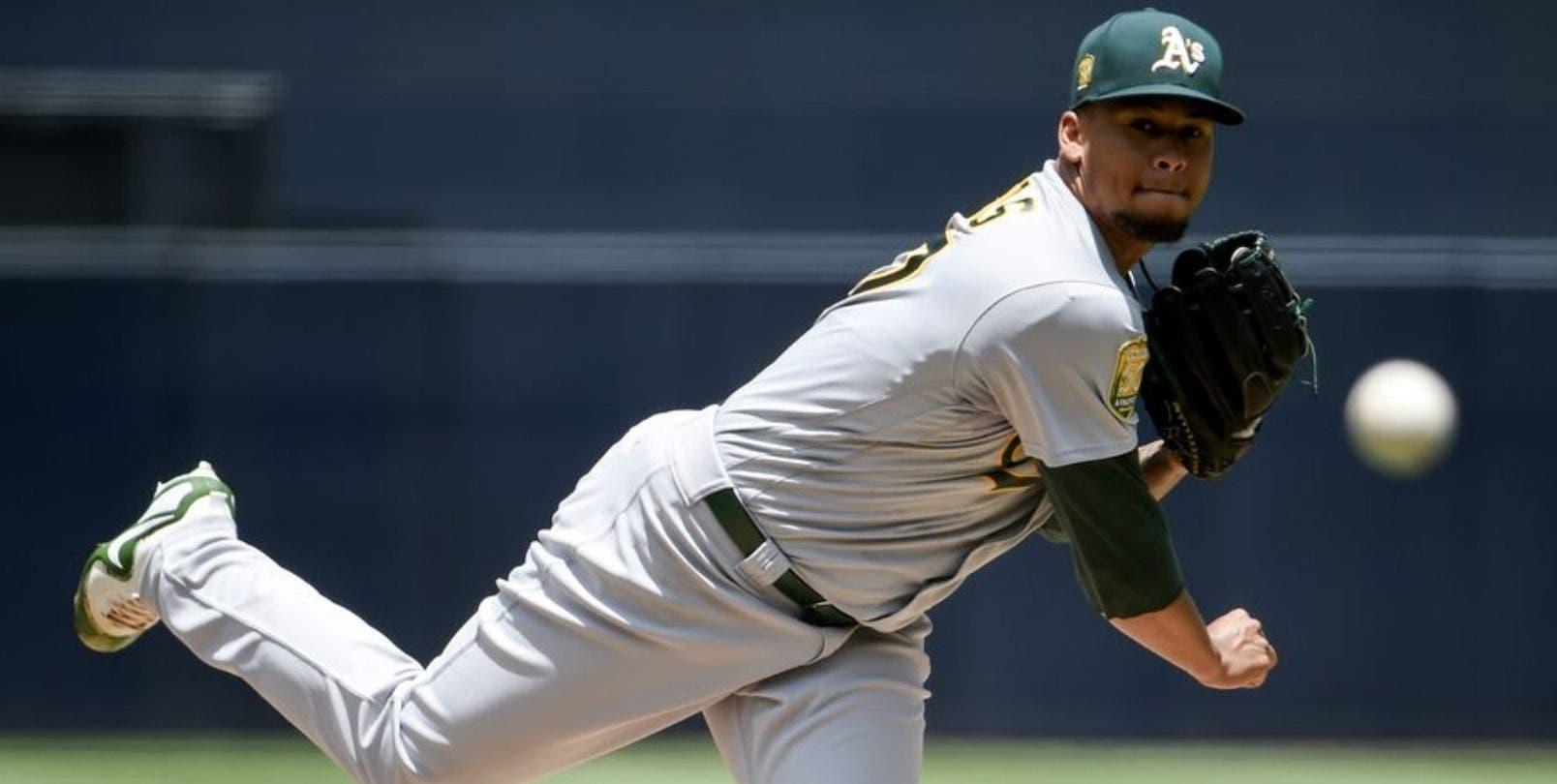 El dominicano Frankie Montás es reconocido por tener un brazo bien fuerte desde que fue descubierto por Boston en 2009.