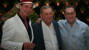 Ito Gómez, Hendrik Kelner y Alberto Monserrat.