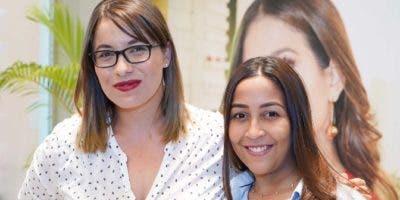 Claritza Rivas y Luisa Almonte.