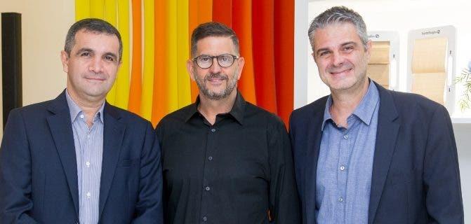 Andrés Latorre, Ángel González y Antonio Tolo.