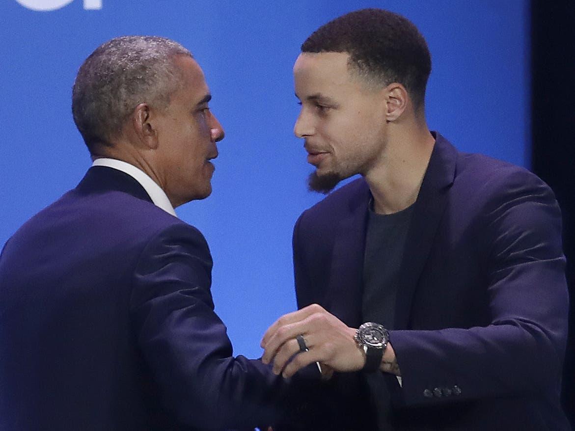 Obama y Curry dan espaldarazo a niños