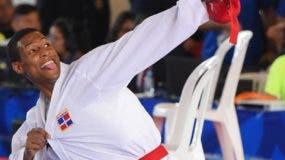 El karateca Deisvis Ferreras se prepara a todo vapor para los Panamericanos.