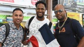 Desde la izquierda, Néstor Cortés, quien abrirá hoy, junto a Marlon Arias y el cubano Odrisamer Despaigne.  alberto calvo