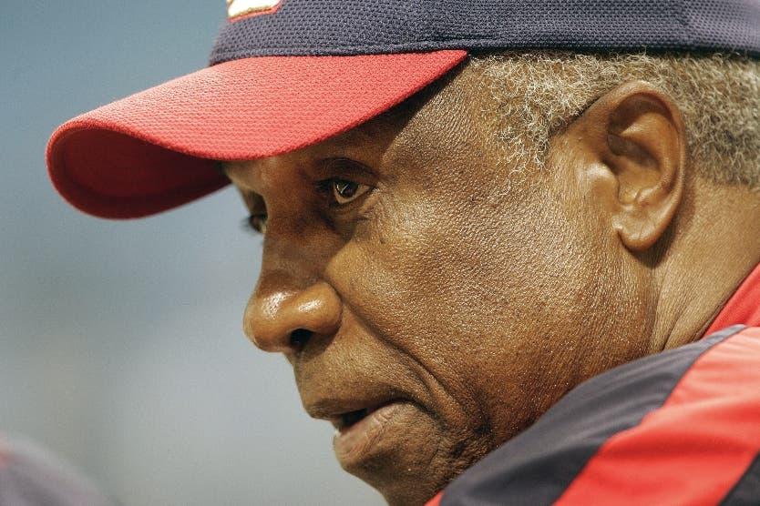 Frank Robinson fue muy respetado en las Grandes Ligas.  AP
